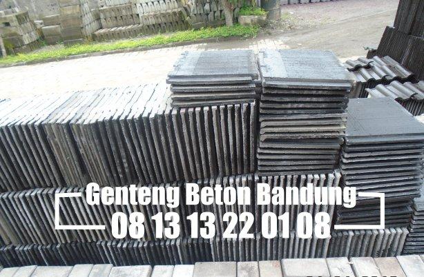 Harga Genteng Beton Flat Bandung